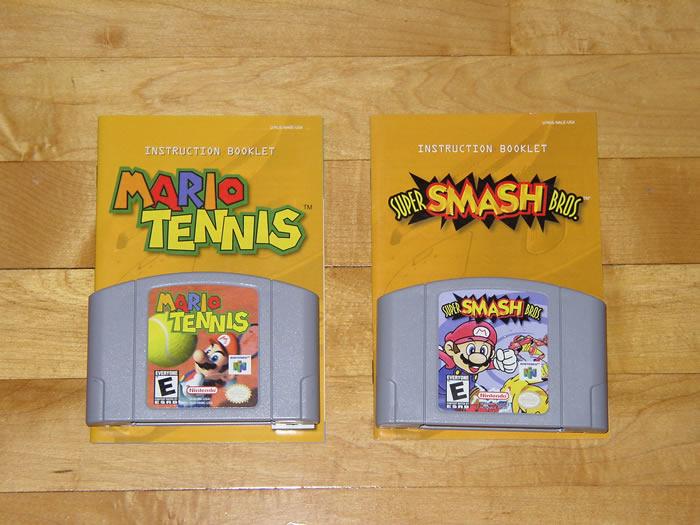 super smash bros n64 manual