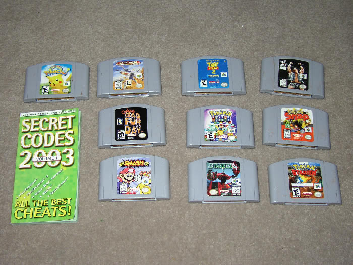 Super Smash Bros. (N64, cart only)
